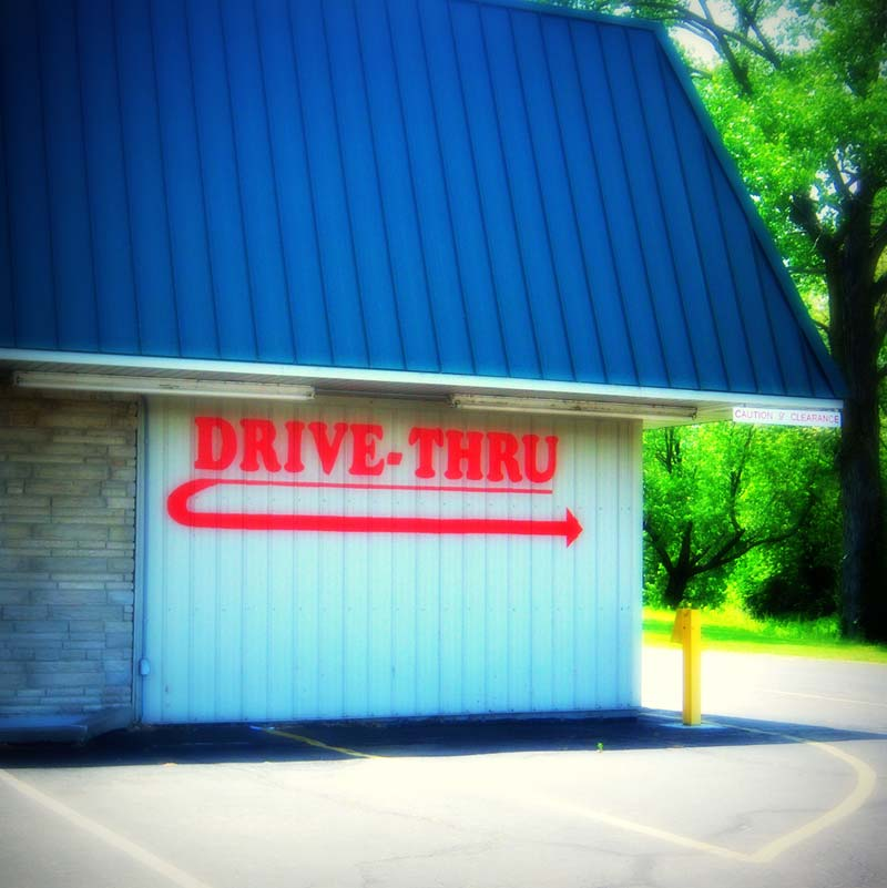 Each Illinois Liquor Mart location features a convenient drive thru window.