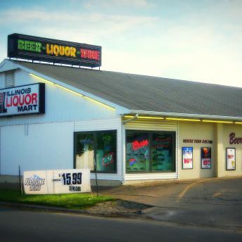 Westmore Liquor Mart in Marion, Illinois